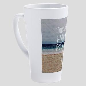 This Is My Happy Place 17 oz Latte Mug