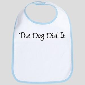 The Dog Did It! Bib