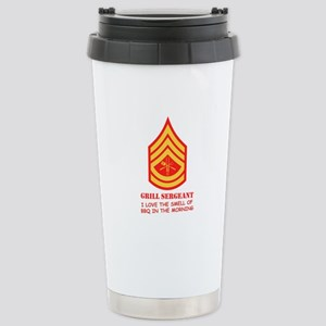 Grill Sgt. Stainless Steel Travel Mug