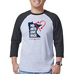 MN Arts Give Back Mens Baseball Tee