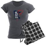 MN Arts Give Back Women's Charcoal Pajamas