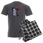 MN Arts Give Back Men's Charcoal Pajamas