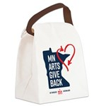 MN Arts Give Back Canvas Lunch Bag
