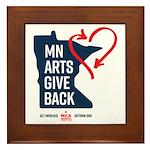 MN Arts Give Back Framed Tile