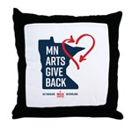 MN Arts Give Back Throw Pillow