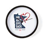 MN Arts Give Back Wall Clock