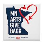 MN Arts Give Back Tile Coaster