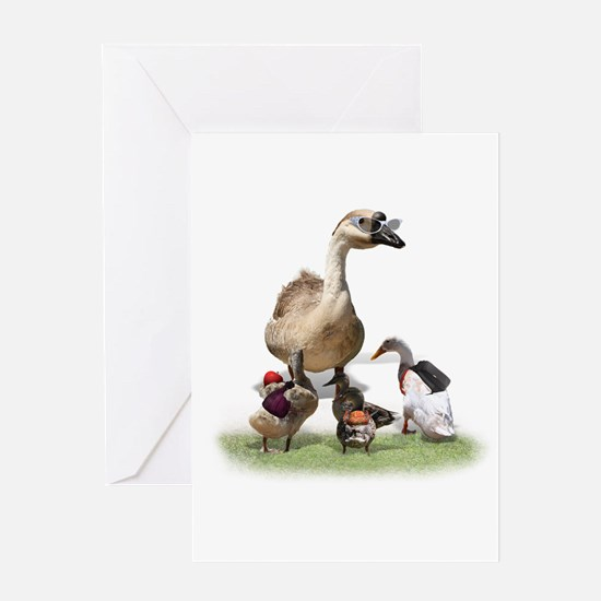 Duck teacher Greeting Card