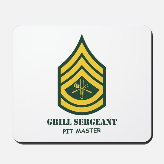 Grill Sgt. Mousepad