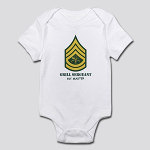 Grill Sgt. Infant Bodysuit