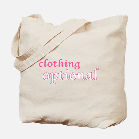 Optional (Pink) Tote Bag