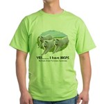 Multiple Great Pyrenees Syndr Green T-Shirt