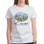 Multiple Great Pyrenees Syndr Women's T-Shirt