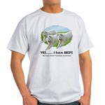 Multiple Great Pyrenees Syndr Light T-Shirt