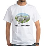 Multiple Great Pyrenees Syndr White T-Shirt