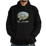 Multiple Great Pyrenees Syndr Hoodie (dark)