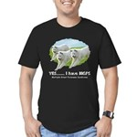 Multiple Great Pyrenees Syndr Men's Fitted T-Shirt