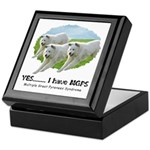Multiple Great Pyrenees Syndr Keepsake Box