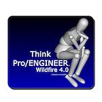 Think Pro/ENGINEER Mousepad