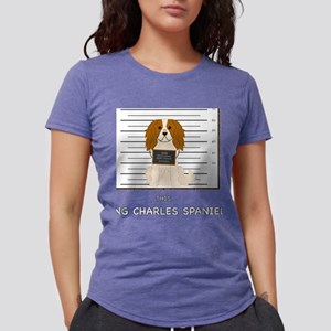King Charles Spaniel Mugshot T-Shirt