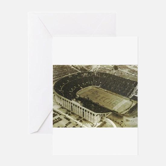 LSU Stadium 1936 Greeting Card