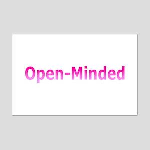 Open-Mind (Pink) Mini Poster Print