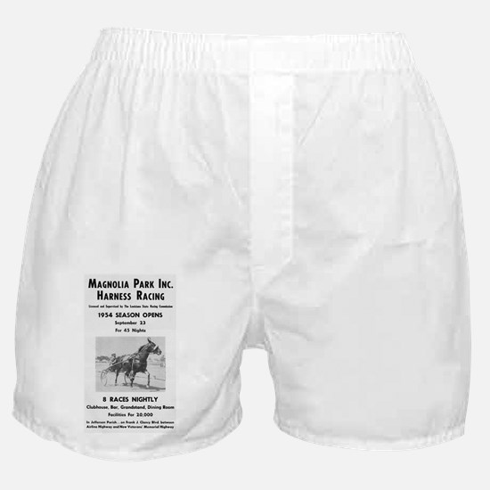 Magnolia Park Harness Racing Boxer Shorts