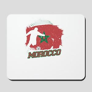 Football Worldcup Morocco Moroccans Socc Mousepad