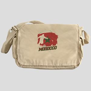Football Worldcup Morocco Moroccans Messenger Bag
