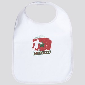 Football Worldcup Morocco Moroccans Socce Baby Bib