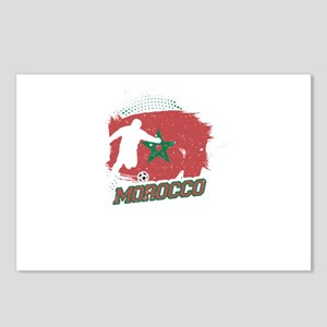 Football Worldcup Morocco Postcards (Package of 8)