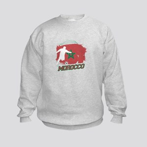 Football Worldcup Morocco Moroccans Soc Sweatshirt