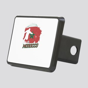 Football Worldcup Morocco Rectangular Hitch Cover