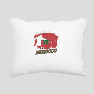 Football Worldcup Morocc Rectangular Canvas Pillow