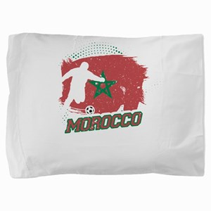 Football Worldcup Morocco Moroccans So Pillow Sham