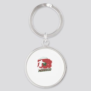 Football Worldcup Morocco Moroccans Socc Keychains