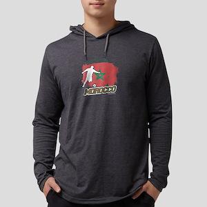 Football Worldcup Morocco Moro Long Sleeve T-Shirt