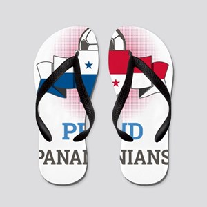 Football Panamanians Panama Soccer Team Flip Flops