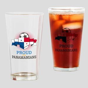 Football Panamanians Panama Soccer Drinking Glass