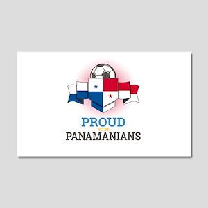 Football Panamanians Panama Soc Car Magnet 20 x 12