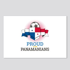 Football Panamanians Pana Postcards (Package of 8)