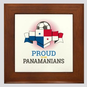 Football Panamanians Panama Soccer Tea Framed Tile