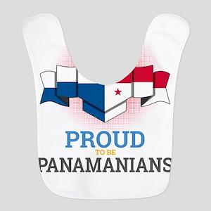 Football Panamanians Panama Soc Polyester Baby Bib