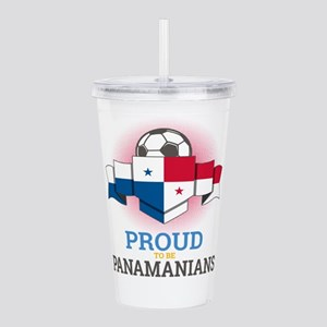 Football Panamanians P Acrylic Double-wall Tumbler