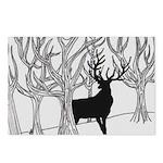 Winter Elk Postcards (Package of 8)
