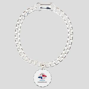 Football Panamanians Pan Charm Bracelet, One Charm