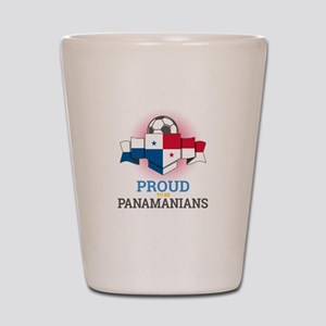 Football Panamanians Panama Soccer Team Shot Glass