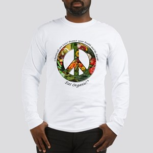 Long Sleeve T-Shirt Peace Organic Vegetables