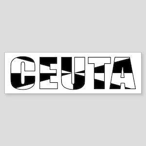 Ceuta Bumper Sticker