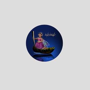 Fairy Magic Leaf on Water Fairy Mini Button